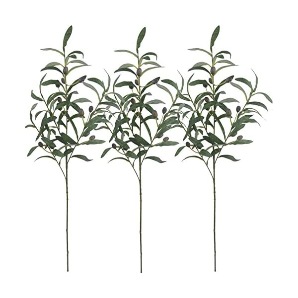 Warmter-28-Artificial-Olive-Branches-Plants-Blackish-Green-Olives-Fruit-Artificial-Greenery-UV-Resistant-Plants-Artificial-Plant-for-Indoor-Outside-Decor-3-Pcs