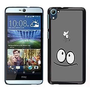 // PHONE CASE GIFT // Duro Estuche protector PC Cáscara Plástico Carcasa Funda Hard Protective Case for HTC Desire D826 / Funny Fly /