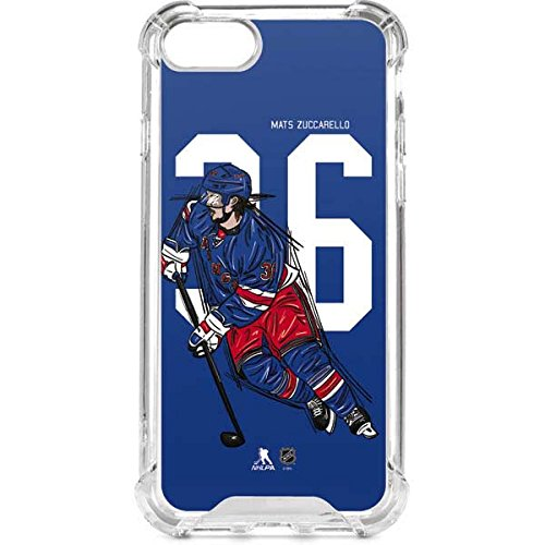 New York Rangers iPhone 8 Case - Mats Zuccarello  36 Action Sketch  ad1665cac