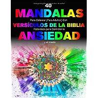40 Mandalas Para Colorear (para adultos) Con Versículos
