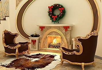 Amazon.com : Baocicco 10x8ft Christmas Interior Decorations ...