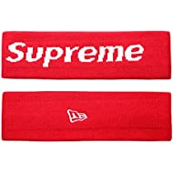 The Mass Sweatband Supreme Headband Perfect for Basketball, Running, Football, Tennis-Fits for Men and Women (Red)