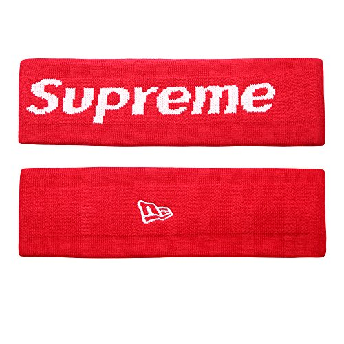 The Mass Sweatband Headband Perfect for Basketball, Running, Football, Tennis-Fits for Men and Women (Red) from The Mass