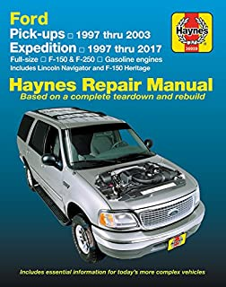 amazon com chilton repair manual ford 1997 2003 pickup 1997 2014 rh amazon com 2003 ford f250 manual trans 2003 ford f250 owners manual