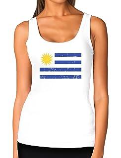 TeeStars - Vintage Uruguay Flag Retro Style Women Tank Top