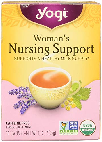 Womans Nursing Support (Yogi Womans Nursng Support Tea 16 ea ( pack of 3))