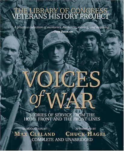By Thomas Wiener Voices of War Compact Disk: Stories of Service from the Homefront and the Frontlines (The Library of (Unabridged) [Audio CD] PDF