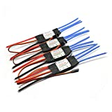 Hobbypower SimonK 30A ESC Brushless Speed Controller 2-4S for RC F450 F550 S550 S500 Quadcopter Multirotor(Pack of 4)