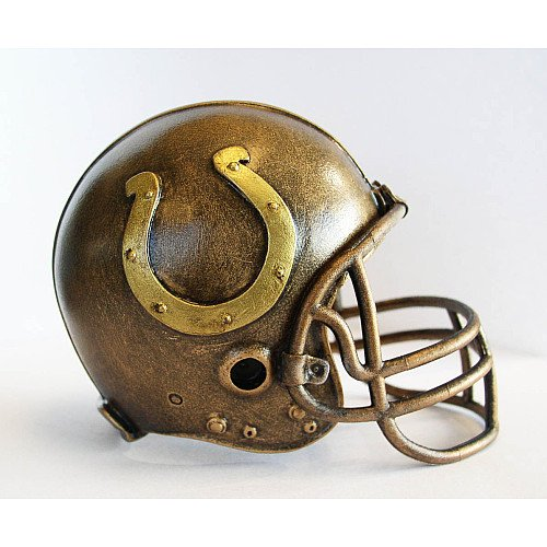 NFL Indianapolis Colts Desktop Helmet Statue (Indianapolis Colts Nfl Desk)