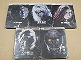 X-Men | X2: X-Men United | X-Men: The Last Stand | X-Men: First Class | X-Men: Days of Future Past 5 Pack Limited Edition Steelbook Lot (Blu Ray + Digital HD)