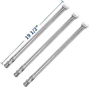 """X Home 62752 3 Burner Tubes Set for Weber Genesis 300 Genesis e310 Genesis 330 (2011-2016), Durable Stainless Steel, 19 1/2"""""""