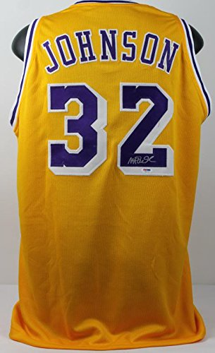 Lakers Johnson Authentic Signed Autographed product image