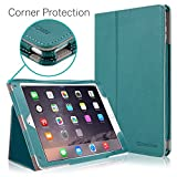 New iPad 2018/2017 9.7 inch Case, CaseCrown Bold Standby Pro Case (Teal) Multi-Angle Viewing Stand