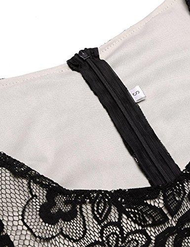black Tassels Flapper Vintage V Women's Dresses Hem Lace Flapper Bifast 1920s Gatsby 2 Dress Neck Fringed Beaded Great SwTAvqx4x