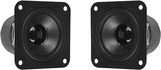 Baoblaze Altavoz de Audio Frecuencia Completa Reemplazos de Altavoz Redonda 8W 4ohm