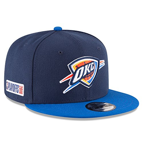 New Era Oklahoma City Thunder 2018 NBA Playoffs 9Fifty Snapback Adjustable Hat by New Era