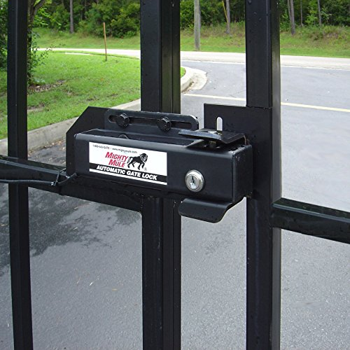 Automatic gate lock fm for mighty mule
