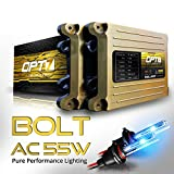 2006 audi a6 ac hid 55 watts - OPT7 Bolt AC 55w H7 HID Kit - 5x Brighter - 6x Longer Life - All Bulb Sizes and Colors - 2 Yr Warranty [10000K Deep Blue Xenon Light]