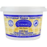 Pro-Treat Stewart Freeze Dried Lamb Liver Dog Treats, Grain Free All Natural, Made in USA Using Human Grade Liver, 16.8 oz, Resealable Tub