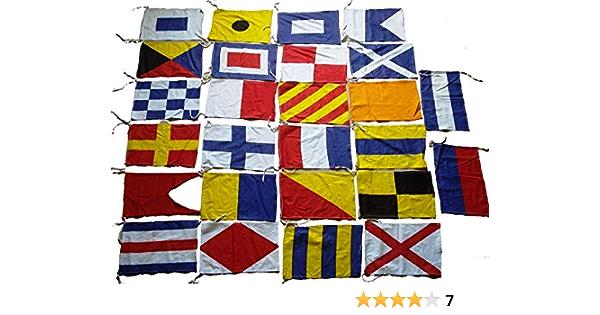 "B 16/"" X 28/"" Nautical // Boat LARGE FLAG Marine Code Naval Signal Flag"