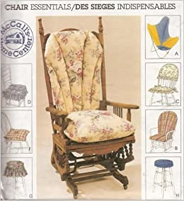 Admirable Mccalls 2724 Sewing Pattern Butterfly Chair Cover Glider Spiritservingveterans Wood Chair Design Ideas Spiritservingveteransorg