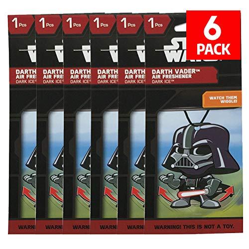 Plasticolor Star Wars Darth Vader Car Accessories - Darth Vader Air Freshener Wiggler (6)