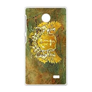 Creative Stone Badge Custom Protective Hard Phone Cae For Nokia Lumia X