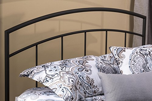 Hillsdale Furniture 1169-49 Hillsdale Julien Without Bed Frame Full/Queen Headboard, Textured Black