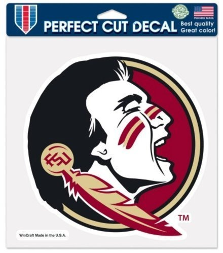 Wincraft NCAA Official Florida State University Seminoles 8 x 8 Perfect Cut Decal