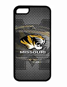 NCAA Collection Samsung Galaxy Note 5 Case Missouri Tigers Team Logo Plastic Hard Case Cover