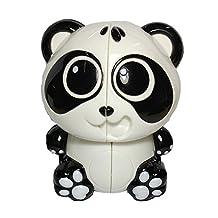 Qm-h Cartoon Model Panda 2x2x2 Magic Cube Speed Stickerless Puzzle Smooth Cube