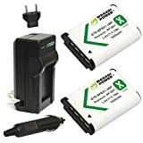 Photo : Wasabi Power Battery (2-Pack) and Charger for Sony NP-BX1, NP-BX1/M8