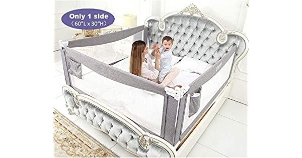 Amazon.com: Barras de cama para niños, extra largas, para ...