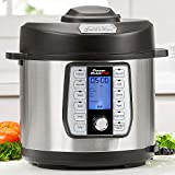 Power Quick Pot (6 QUART) 37 in1 Multi- Use Programmable Pressure Cooker, Slow Cooker, Rice Cooker, Yogurt Maker, Cake Maker, Egg Cooker, Baking, Sauté/Sear, Steamer, Hot Pot, Sous Vide and Warmer