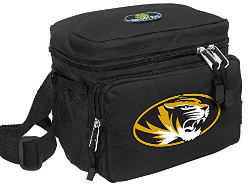 Broad Bay University of Missouri Lunch Bag OFFICIAL NCAA Mizzou Lunchboxes by Broad Bay