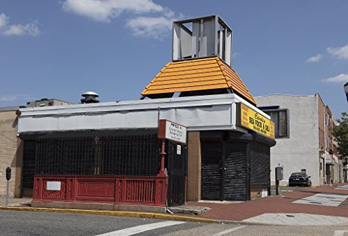 Photograph | Subway entrance in Camden, New Jersey| Fine Art Photo Reporduction 44in x 30in