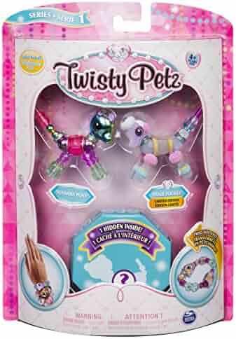 Twisty Petz - 3-Pack Surprise Collectible Bracelet Set for Kids