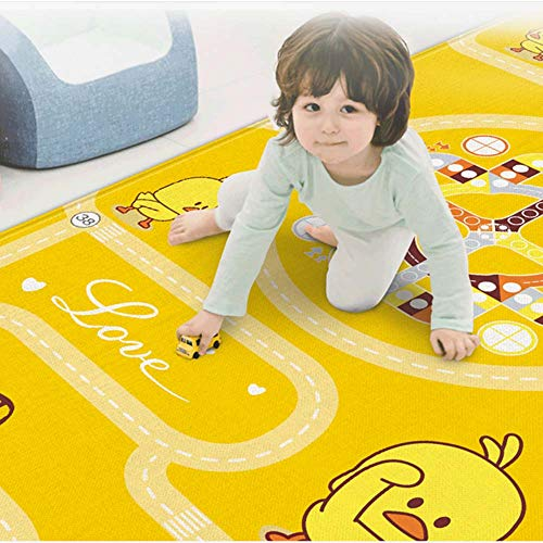 Portable Double-Sided Non-Slip Toddler Crawling Game Mat,Baby Environmentally Friendly and Tasteless Waterproof Dirt-Resistant,Children's Pad for Living Room Outdoor Picnic