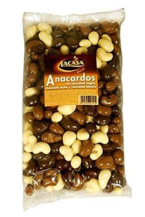 Divinos anacardos tres chocolates 1kg