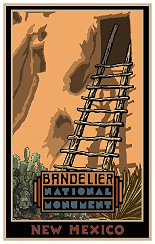 bandolier national monument poster