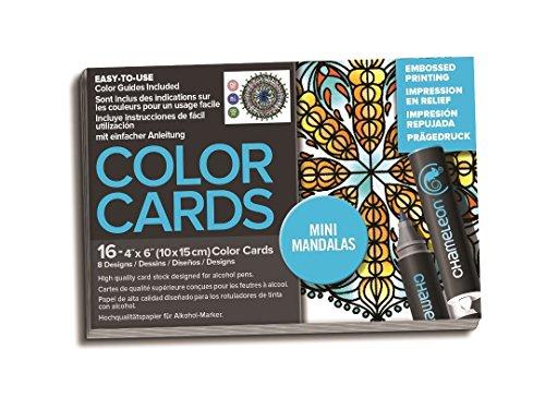 Chameleon Art Products, Chameleon Color Cards, 8 Designs