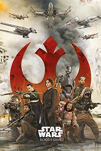 Star Wars: Rogue One - Movie Poster / Print The Rebels By Stop Online