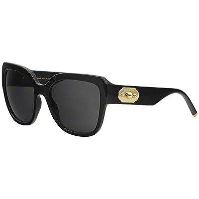 Dolce & Gabbana 0DG6118 Gafas de sol, Black, 55 para Mujer: Ropa y accesorios
