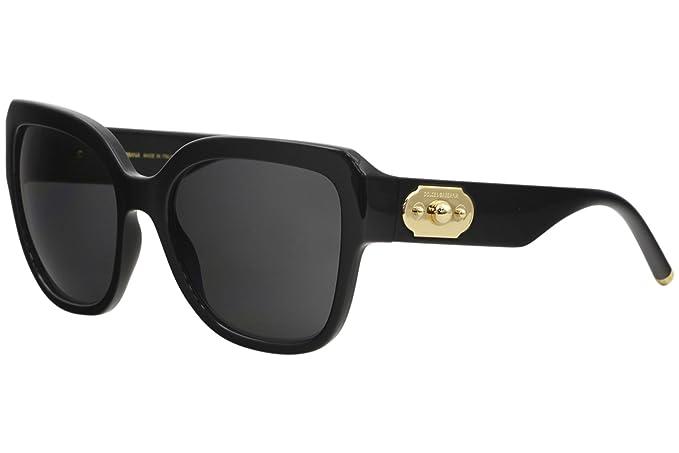 Ray-Ban 0DG6118 Gafas de Sol, Black, 55 para Mujer: Amazon ...