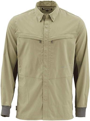Intruder BiComp - Camisa de pesca, Large, Savia cepillo: Amazon.es: Ropa y accesorios