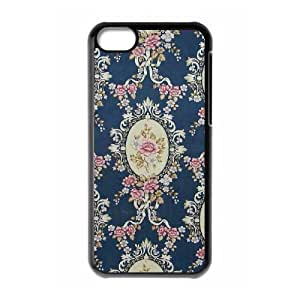 Beautiful Flower Cheap Custom Cell Phone Case Cover for iPhone 5C, Beautiful Flower iPhone 5C Case