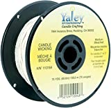 Yaley Candle Wicking Bleached Spool 75 Yards (12 Pack)
