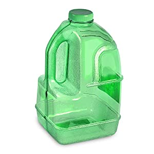 1 Gallon BPA FREE Reusable Plastic Drinking Water Bottle Jug Container - Green
