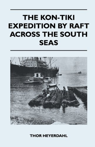Book cover for The Kon-Tiki Expedition by Raft Across the South Seas