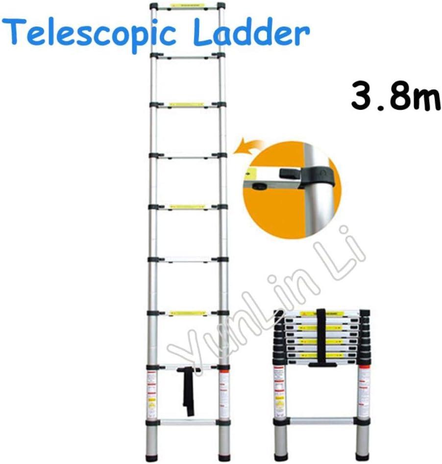 /Échelle t/élescopique t/élescopique t/élescopique 3,8 m d/épaisseur pliable en aluminium